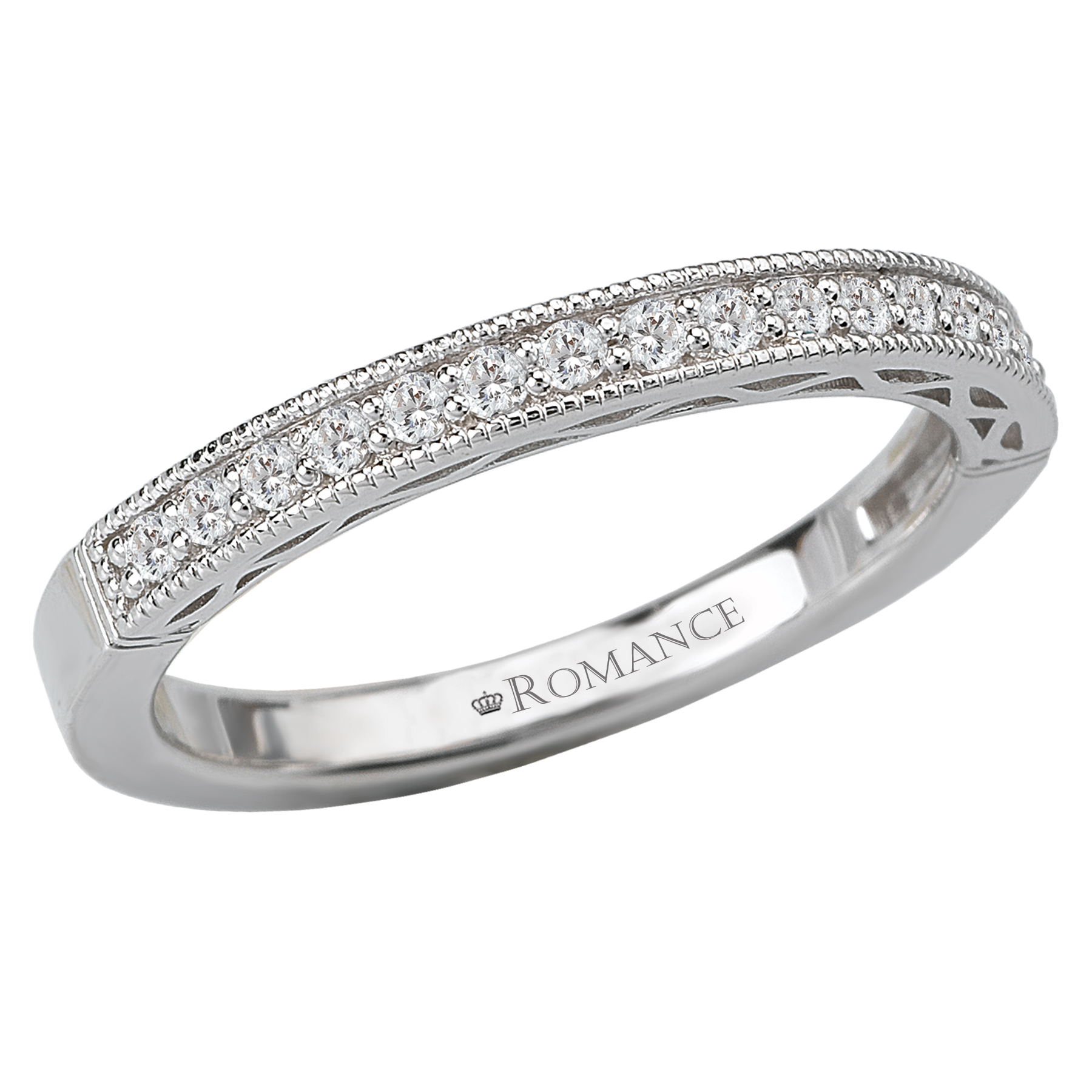 Romance Wedding Bands 117362-W product image