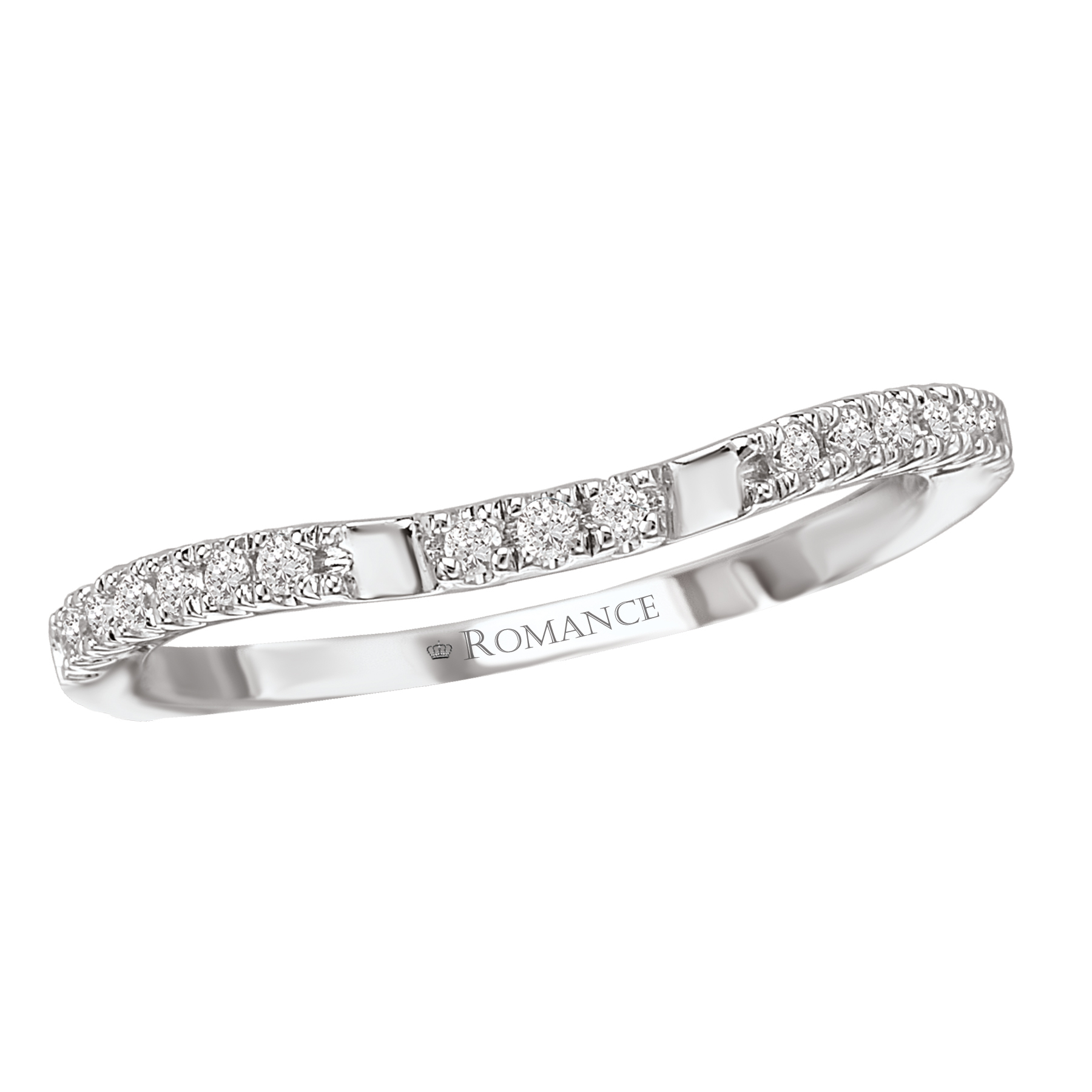 Romance Wedding Bands 117384-W product image