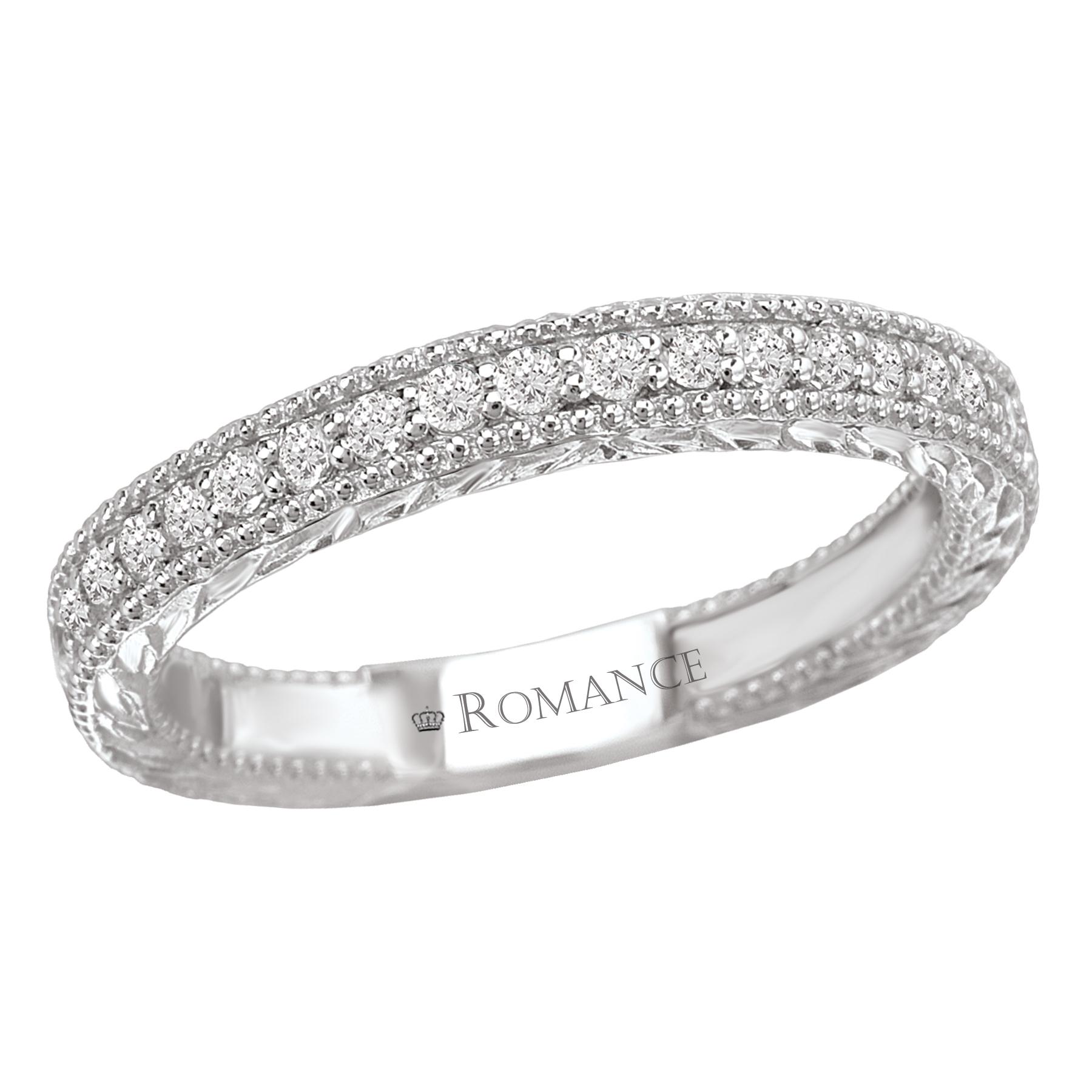 Romance Wedding Bands 117385-W product image