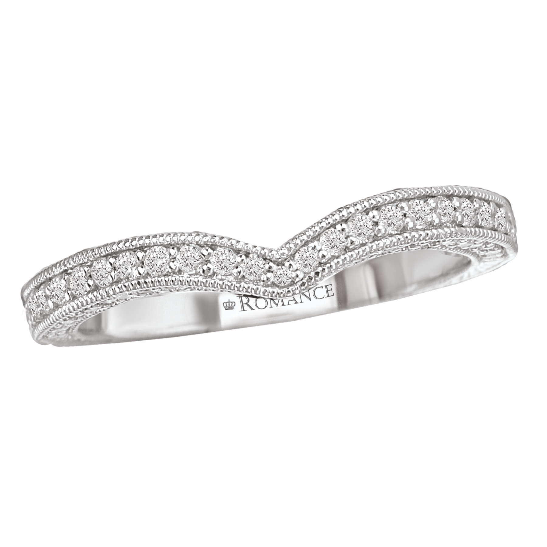 Romance Wedding Bands 117434-100W product image