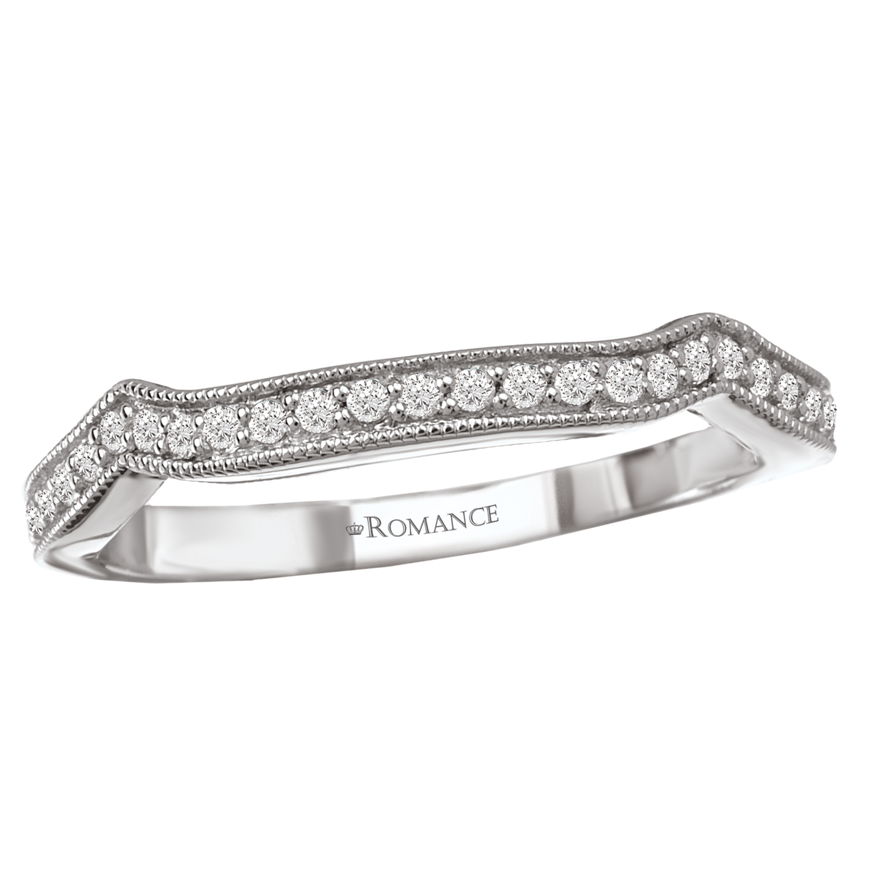 Romance Wedding Bands 117479-W product image