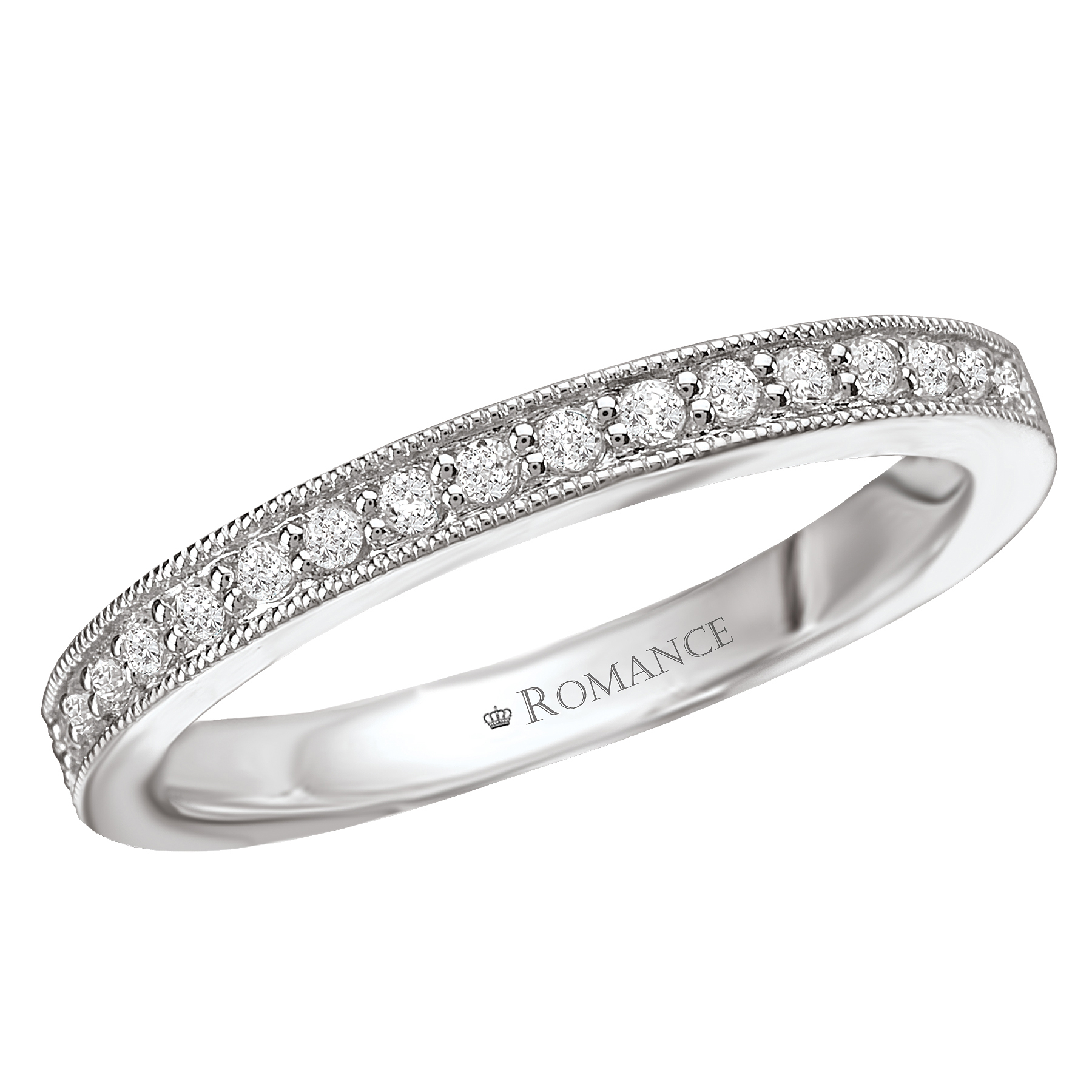 Romance Wedding Bands 117524-W product image