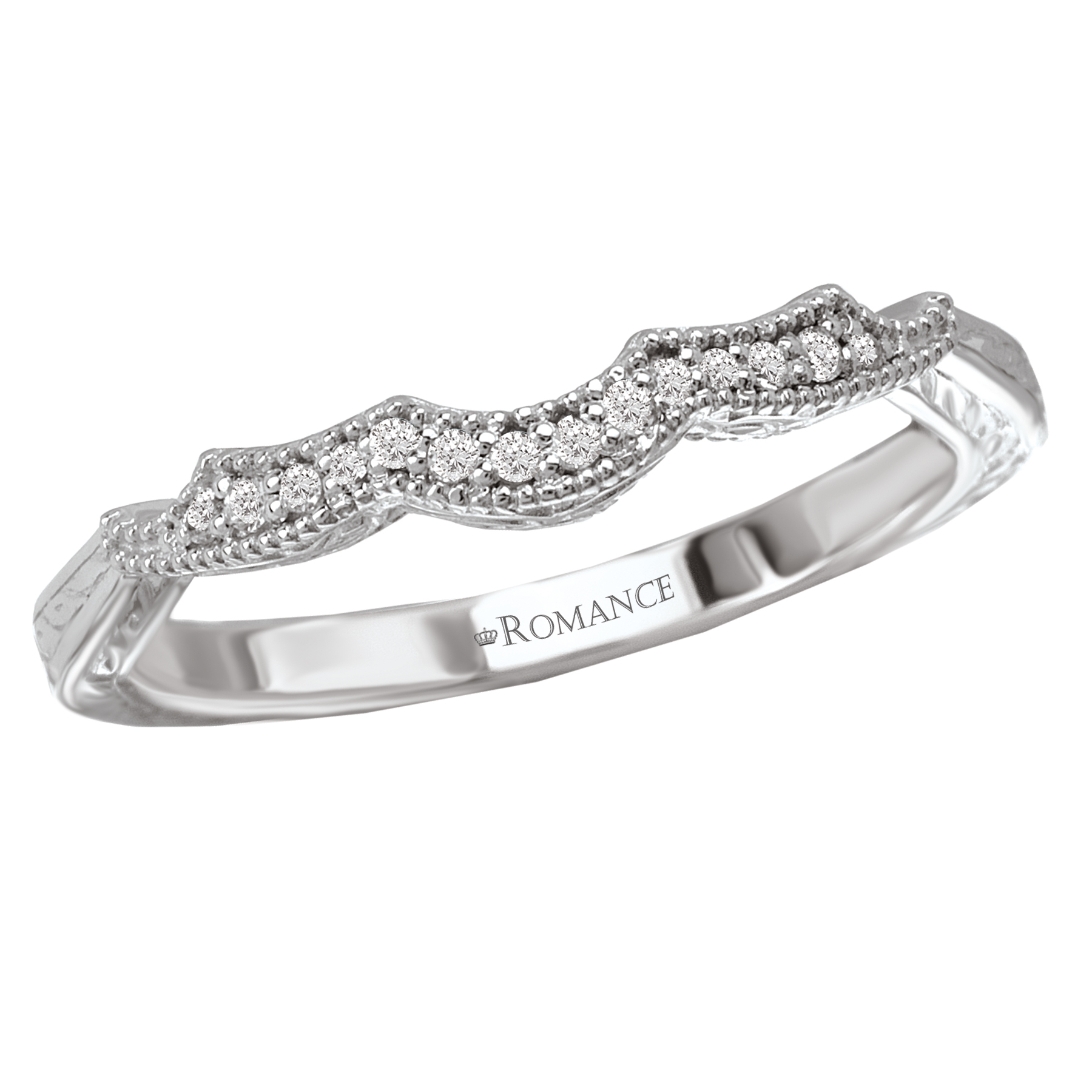 Romance Wedding Bands 117527-W product image