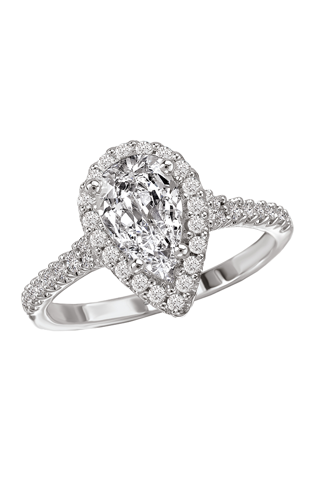 Romance Engagement Rings 117553-100TR product image