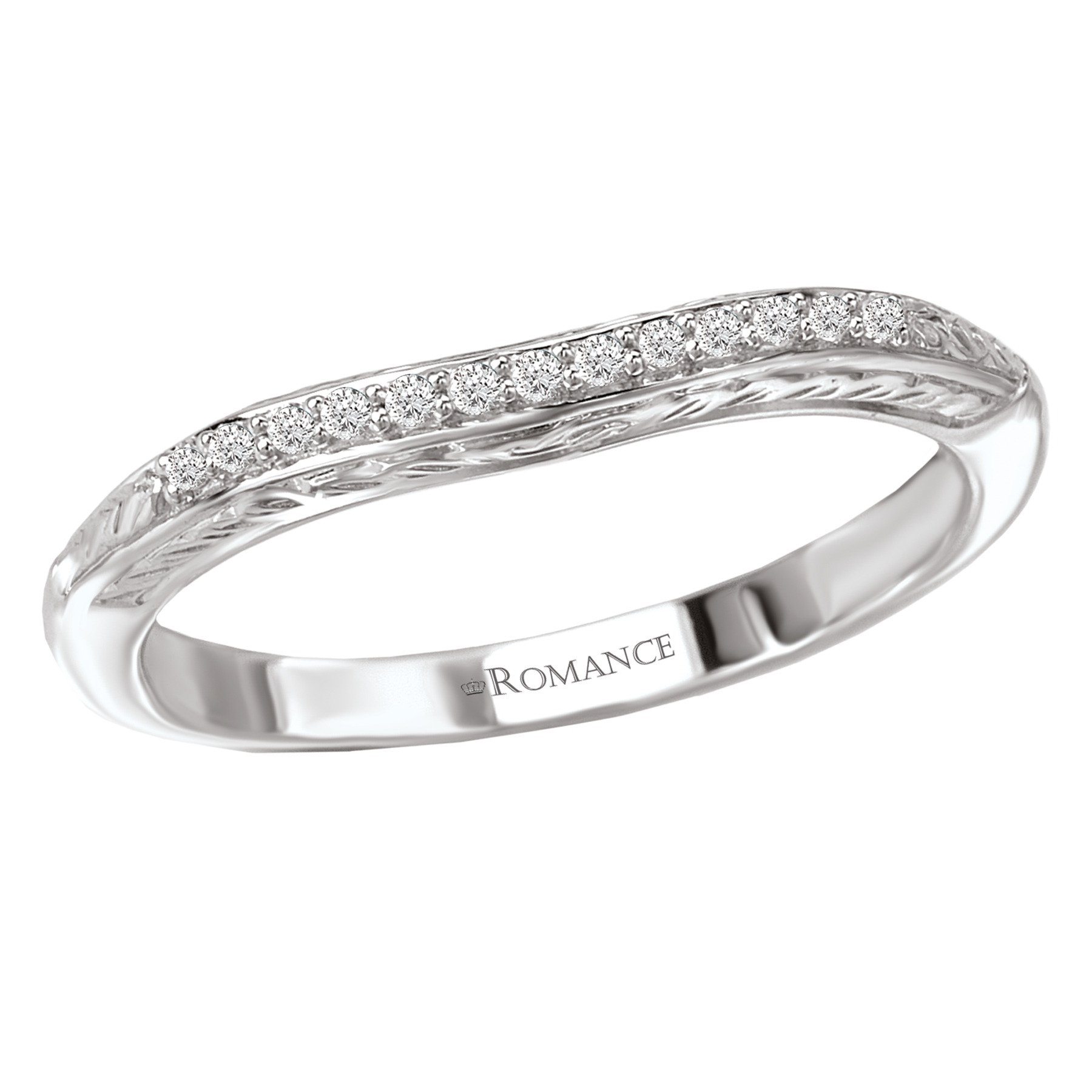 Romance Wedding Bands 117603-100W product image