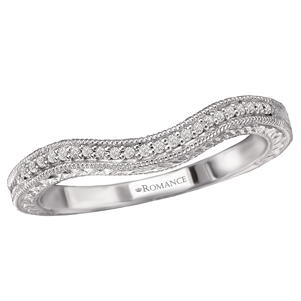 Romance Wedding Bands 117634-100W product image