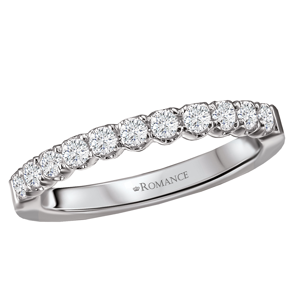 Romance Wedding Bands 117672-W product image