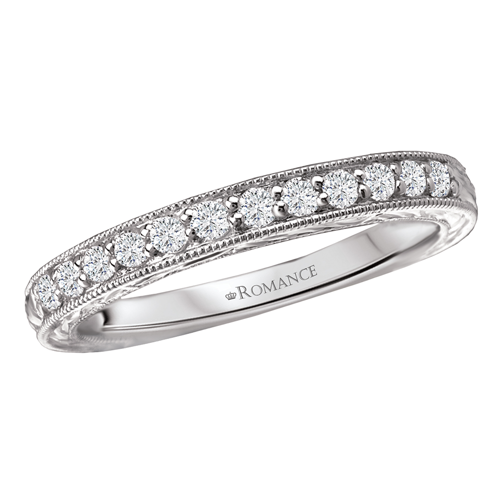 Romance Wedding Bands 117674-W product image