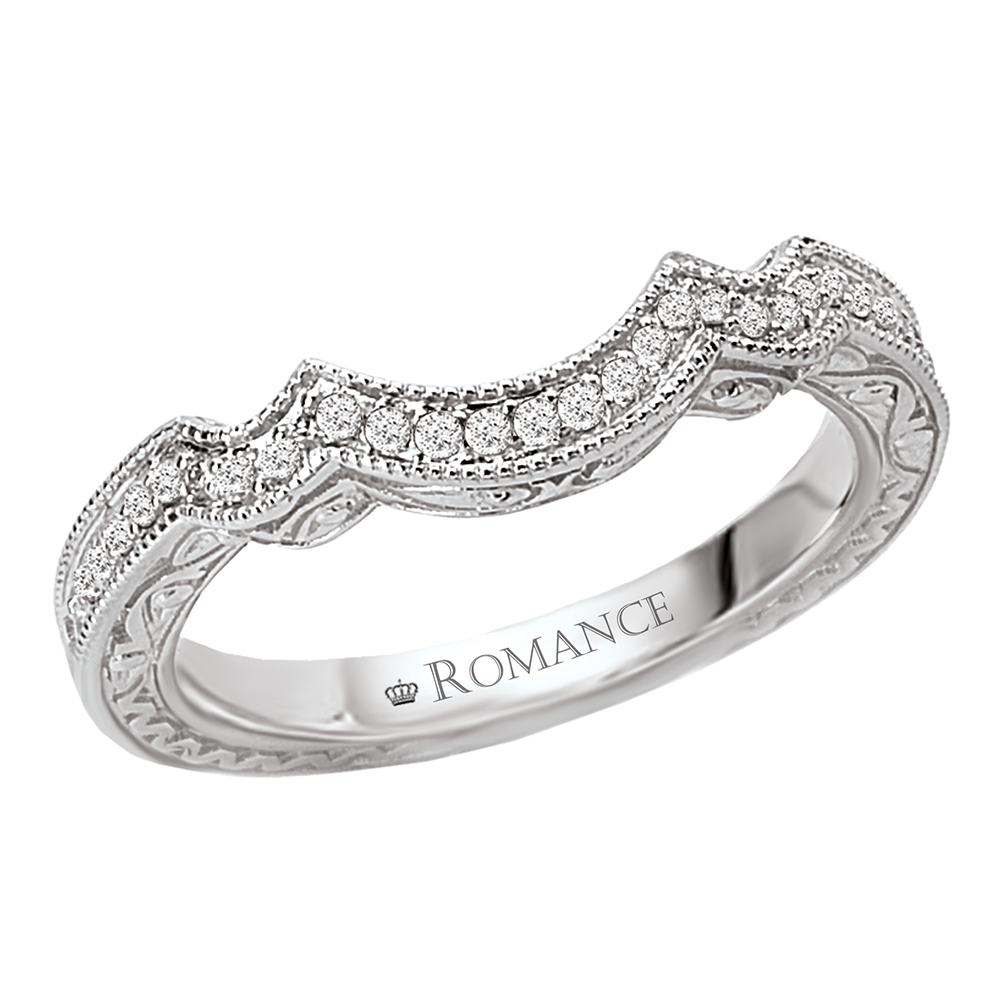 Romance Wedding Bands 117762-W product image