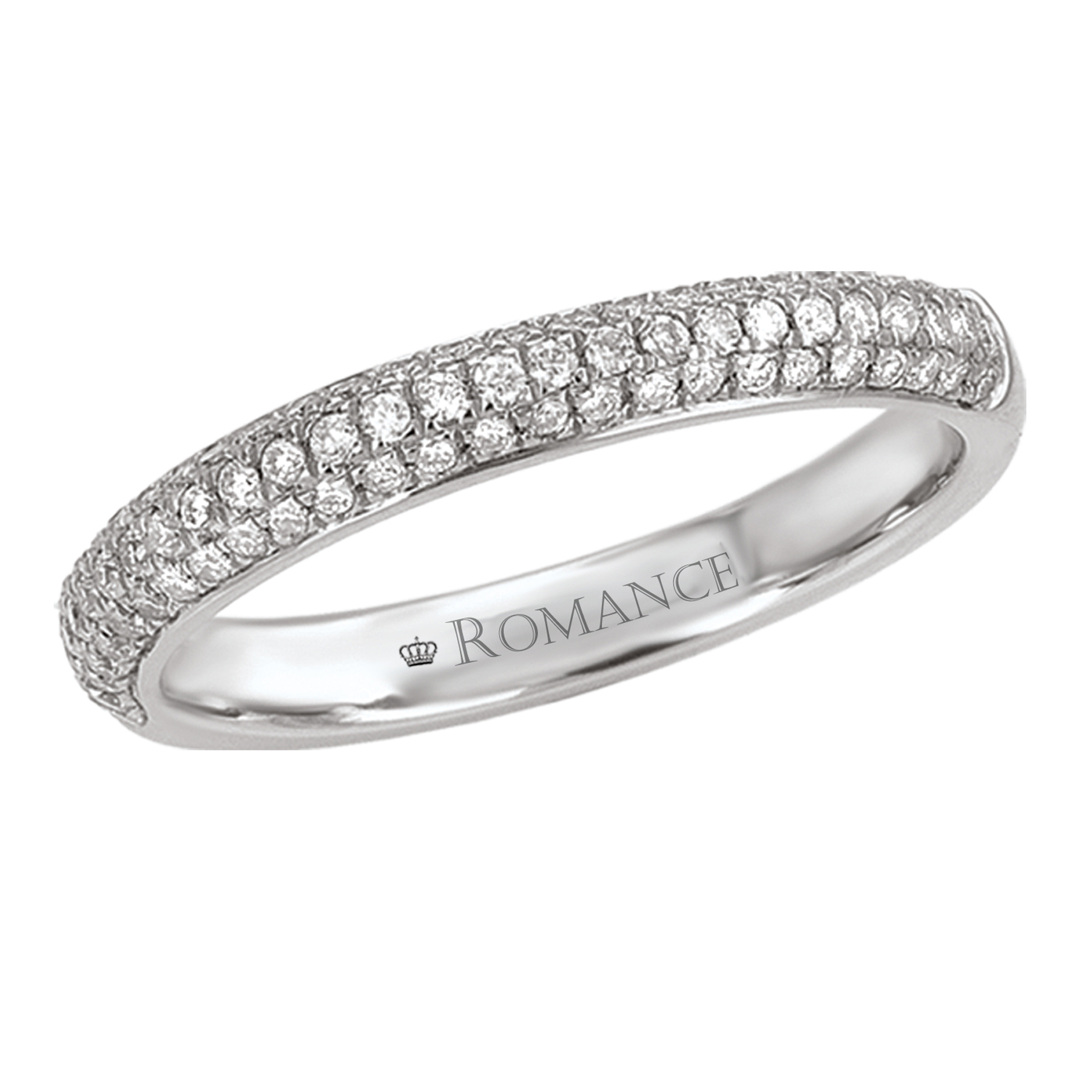 Romance Wedding Bands 118007-W product image