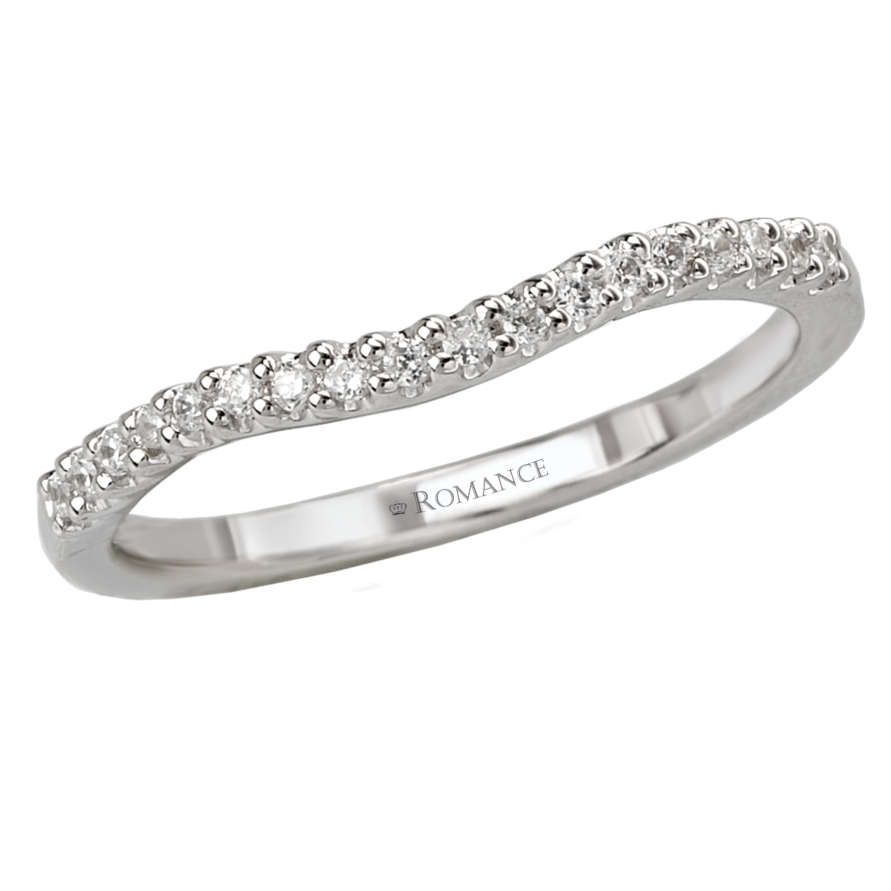 Romance Wedding Bands 118022-W product image