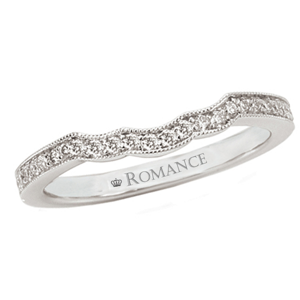 Romance Wedding Bands 118026-W product image