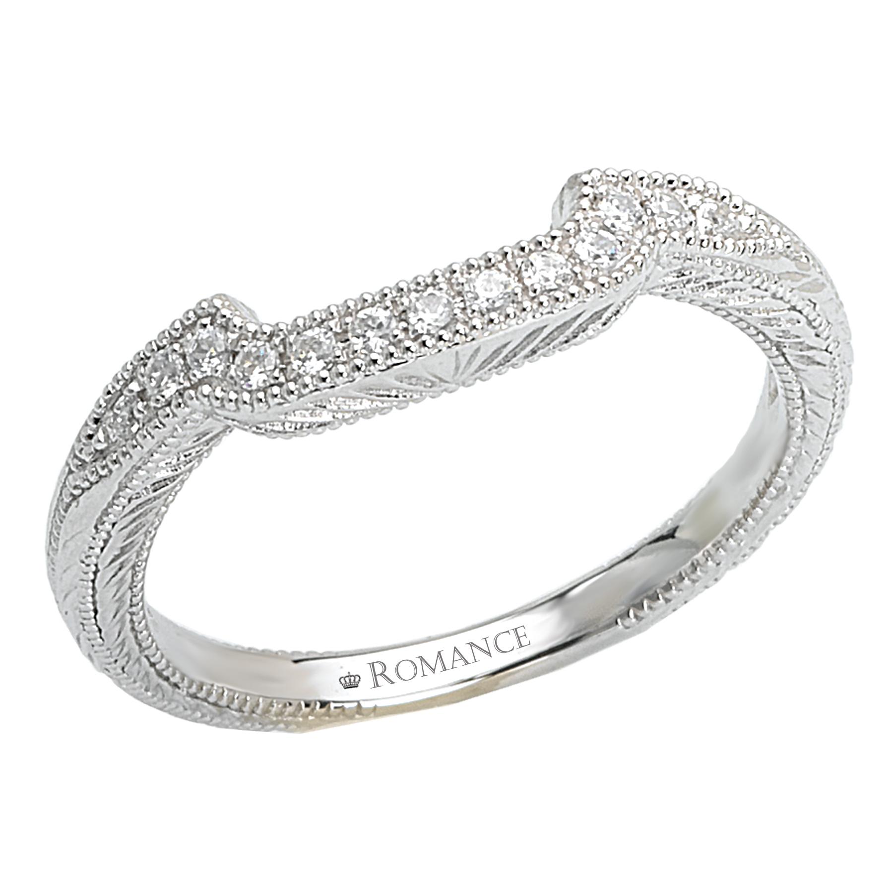 Romance Wedding Bands 118186-W product image