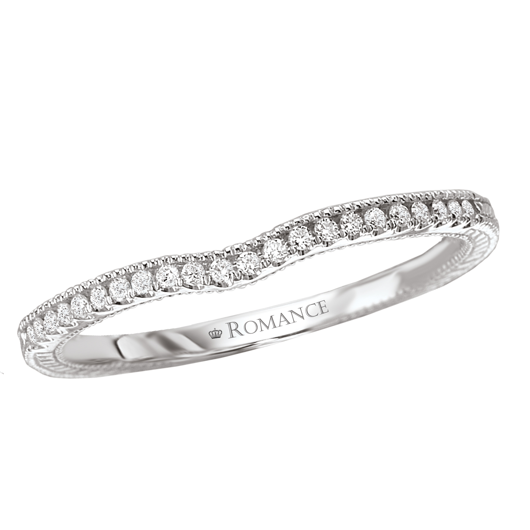 Romance Wedding Bands 118187-W product image