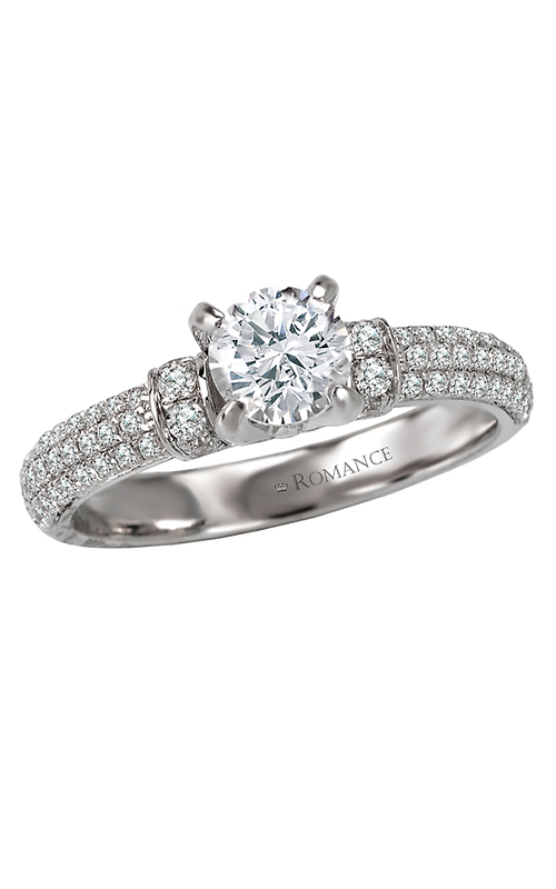 Romance Engagement Rings 118007-075S product image