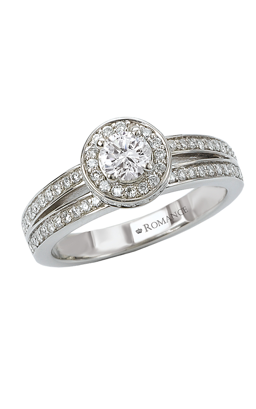 Romance Engagement Rings 118015-025S product image