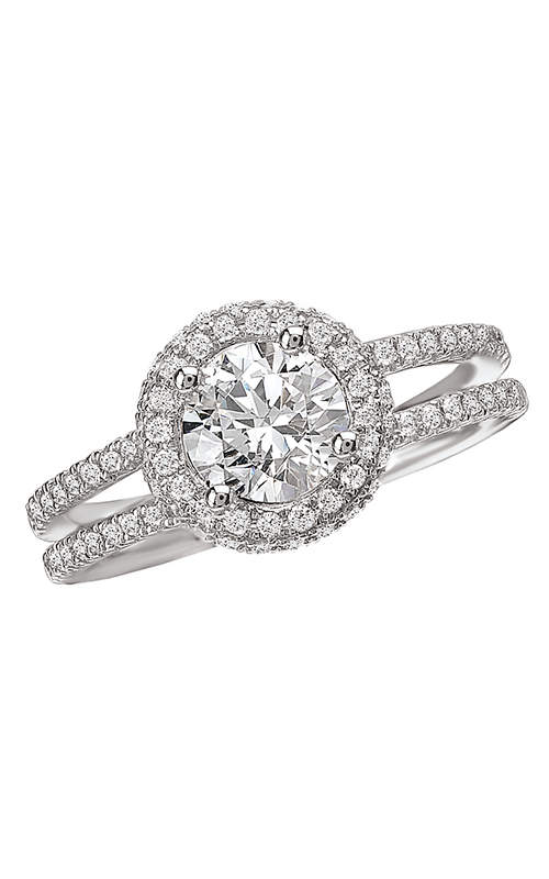 Romance Engagement Rings 118105-040C product image