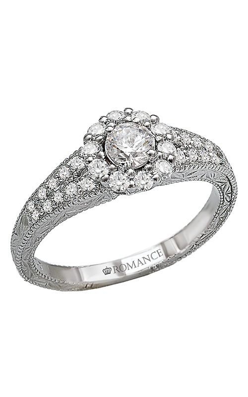 Romance Engagement Rings 118173-025C product image