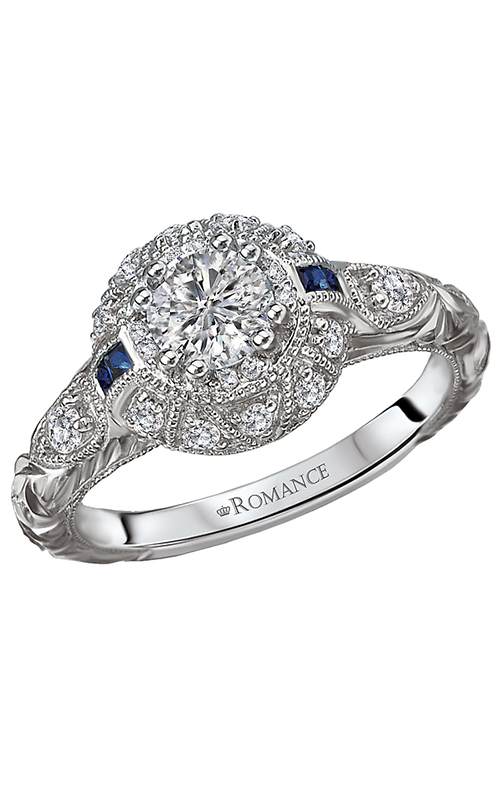 Romance Engagement Rings 118304-040C product image