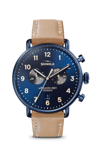 Shinola Canfield Chrono S0120161933