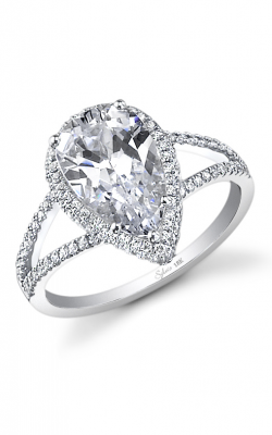Sylvie Halo Engagement ring SY289-035A8W30T product image