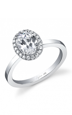 Sylvie Halo Engagement ring SY293-0017/A8W product image