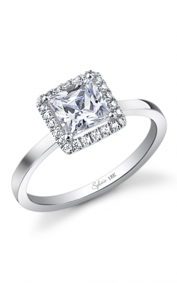 Sylvie Halo Engagement ring SY293-010A8W10P product image