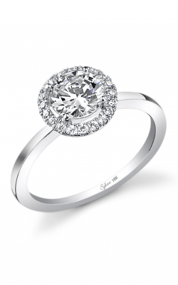 Sylvie Halo Engagement ring SY293-0014/A8W product image