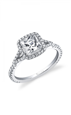 Sylvie Sidestone Engagement Ring SY595-0039/A8W product image