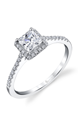 Sylvie Halo Engagement Ring SY696-0023/A8W product image