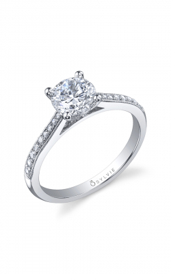 Sylvie Sidestone Engagement Ring SY821-013A8W10R product image