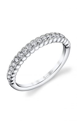 Sylvie Wedding Band B0010 WHITE product image