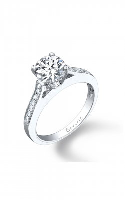 Sylvie Sidestone Engagement Ring SY089-0020/A8W product image