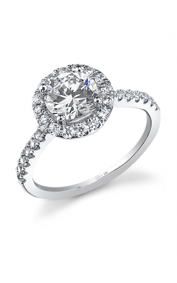 Sylvie Halo Engagement ring SY316-0050/A8W product image