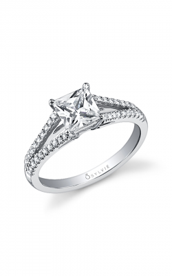 Sylvie Sidestone Engagement ring SY401-0020/A8W product image