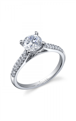 Sylvie Sidestone Engagement ring SY813-026A8W10R product image