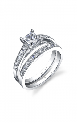 Sylvie Sidestone Engagement ring SY709-0032/A8W product image
