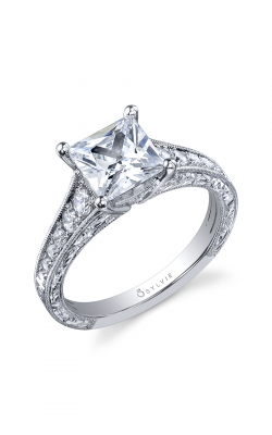 Sylvie Sidestone Engagement ring SY883-036A8W20P product image