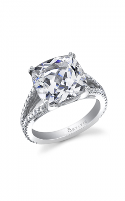 Sylvie Sidestone Engagement ring SY337-0078/A8W product image