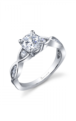 Sylvie Sidestone Engagement ring SY893-030A8W10R product image
