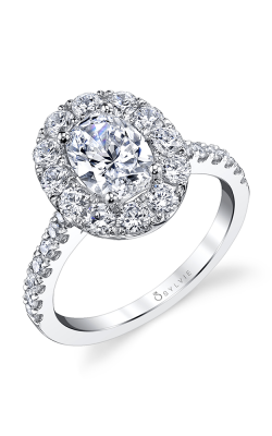 Sylvie Engagement ring S1299-100A8W12O product image