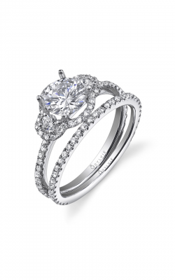 Sylvie Sidestone Engagement ring SY195S-52A4W10R product image