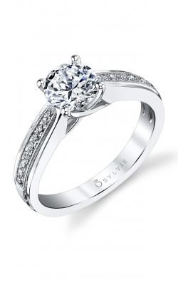 Sylvie Sidestone Engagement Ring S1171-0014/A8W product image