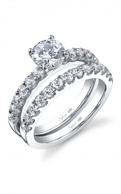 Sylvie Sidestone Engagement Ring SY687-0053/A8W product image