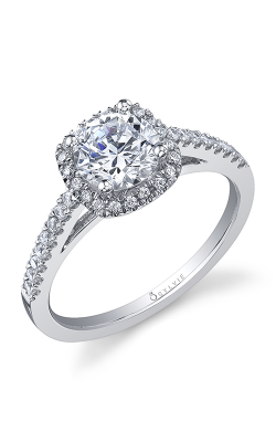 Sylvie Halo Engagement Ring SY590-29A8W10RC product image