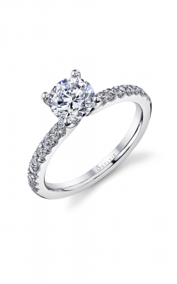 Sylvie Sidestone Engagement Ring SY965-023A8W10R product image