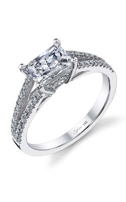 Sylvie Sidestone Engagement ring SY974-027A8W75E product image
