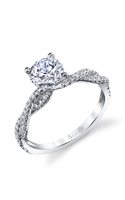 Sylvie Sidestone Engagement Ring S1523-028A8W10R product image