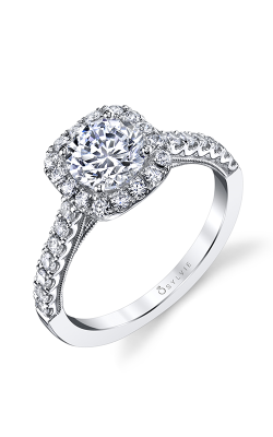 Sylvie Halo Engagement Ring S1530-48A8W10RC product image