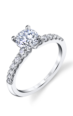 Sylvie Sidestone Engagement Ring S1499-038A4W10R product image